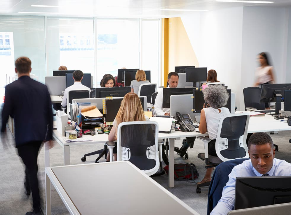 Offices brimful of workers could be a thing of the past
