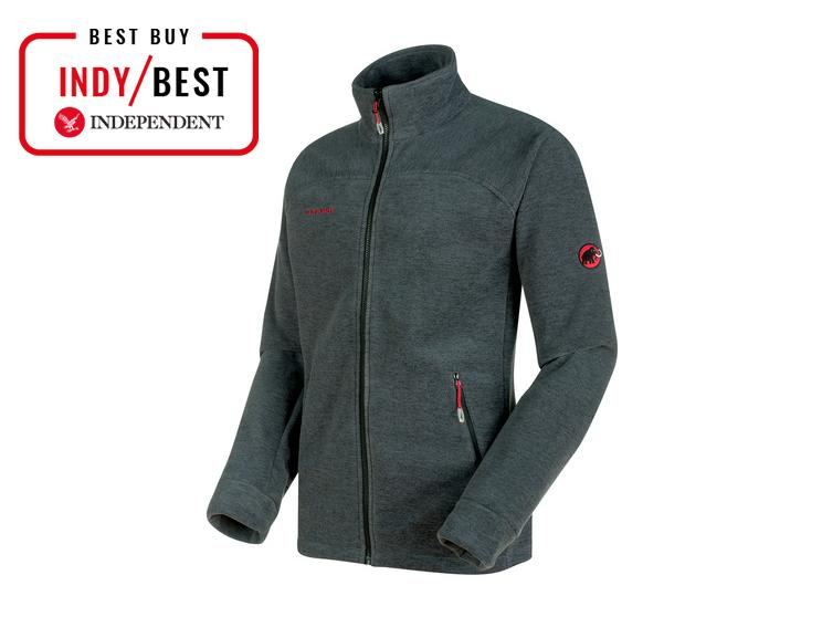 Montane Mens Grey Wolf Hoodie Full Zip Hooded Zip Pocket Top