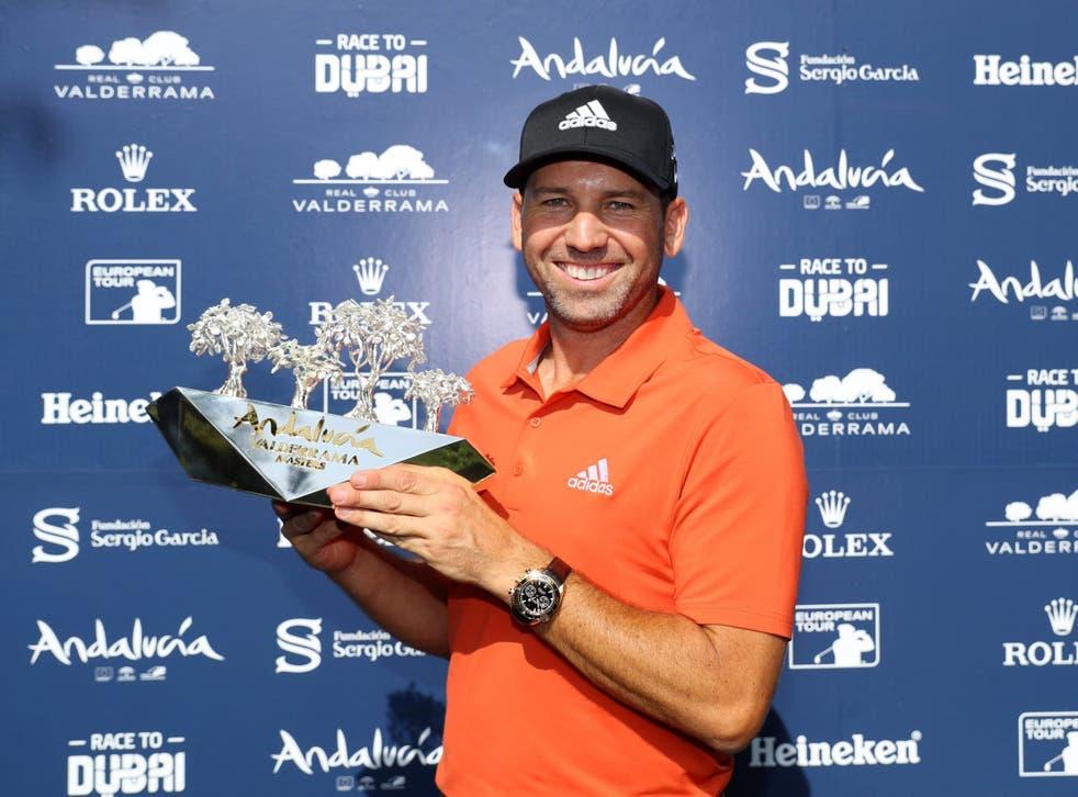 Sergio Garcia won a second consecutive Andalucia Valderrama Masters title