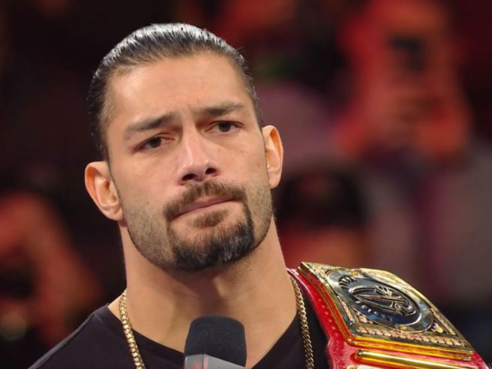 roman reigns latest news breaking stories and comment the