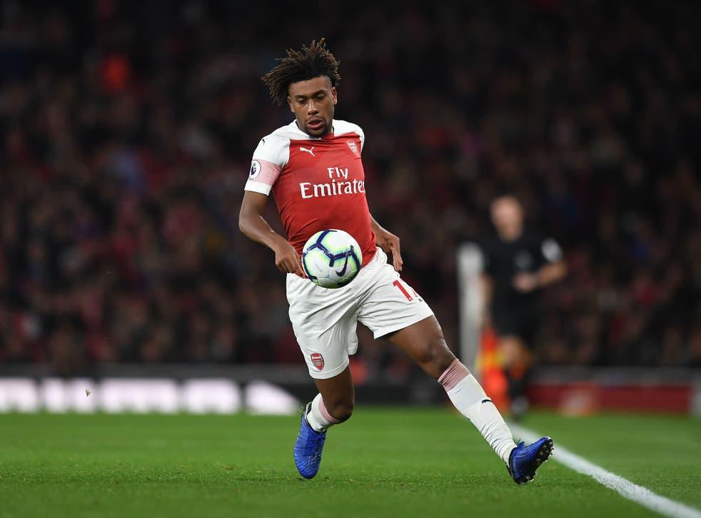 Alex Iwobi was superb for Arsenal