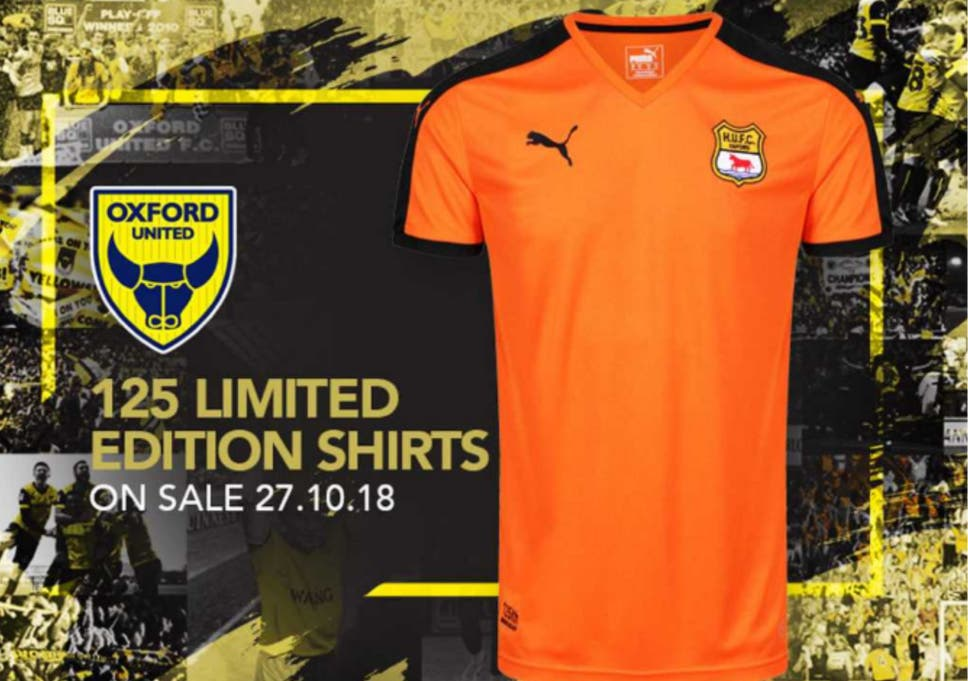 new concept d71c4 7d346 Oxford United accused of trying to rip off fans with £75 ...