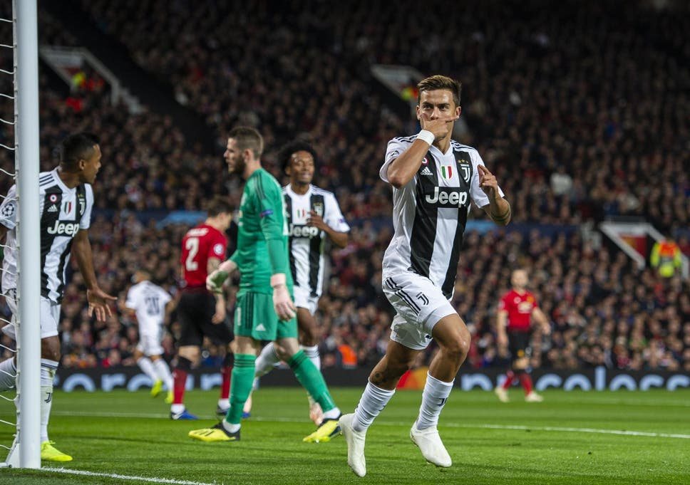 4b0117bc4 Manchester United frustrated as Paulo Dybala hands Juventus victory on Cristiano  Ronaldo s return