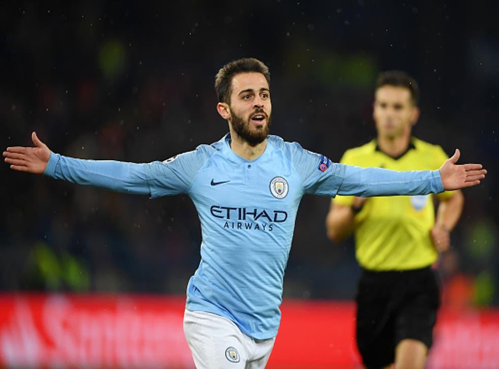 Manchester City avenged last season's defeat to Shaktar Donetsk