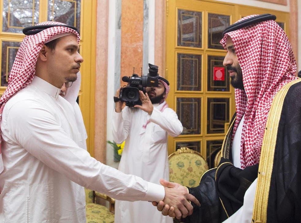 A handshake that shook the world: Mohammad bin Salman meets Salah bin Jamal Khashoggi, son of the journalist