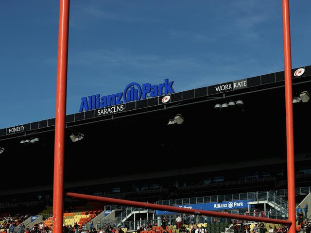 Saracens say that games will continue to be played at Allianz Park during the building period