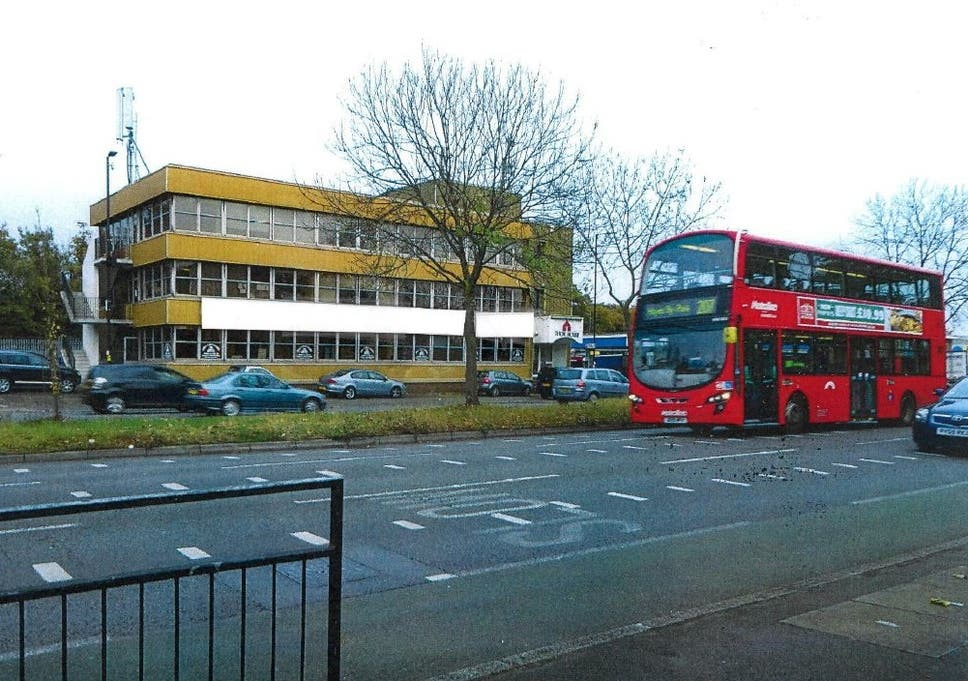 The 'learning centre' was based inside a three-storey office block in Ealing, west London