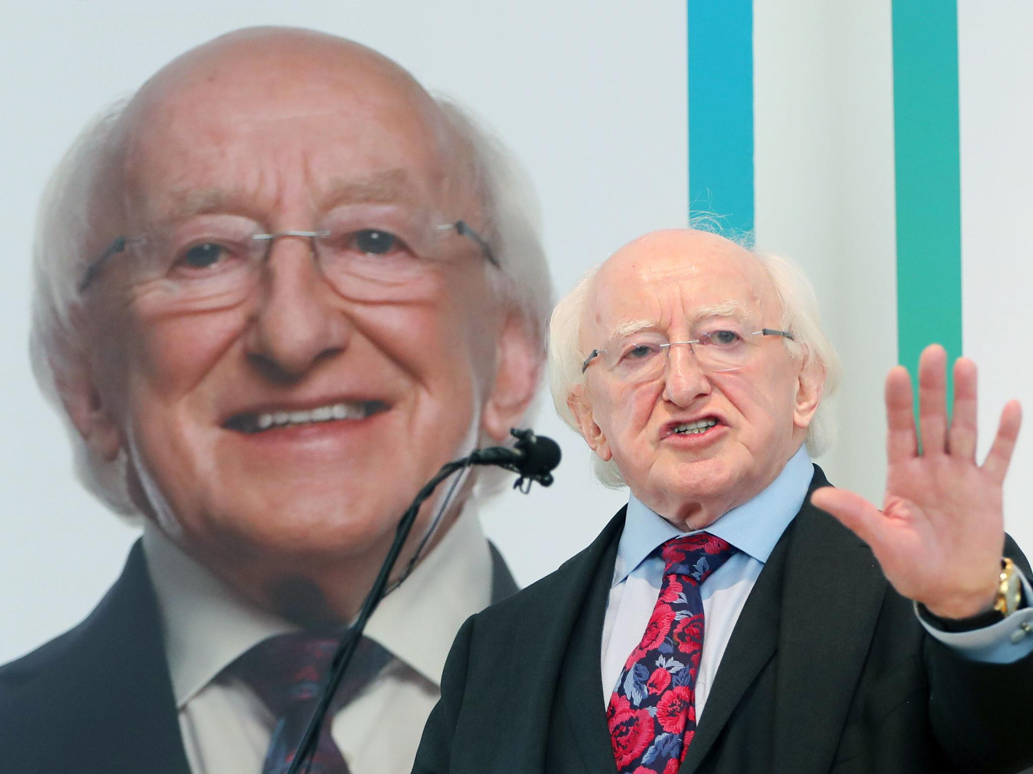 Irish presidential election 2018 michael d higgins on course to win second term with landslide vote