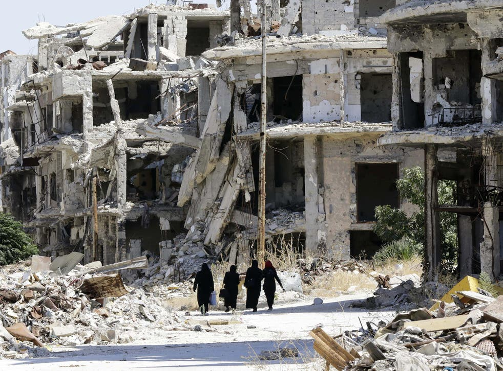 Homs, Syria: ruined lives need proper support if they are to be rebuilt