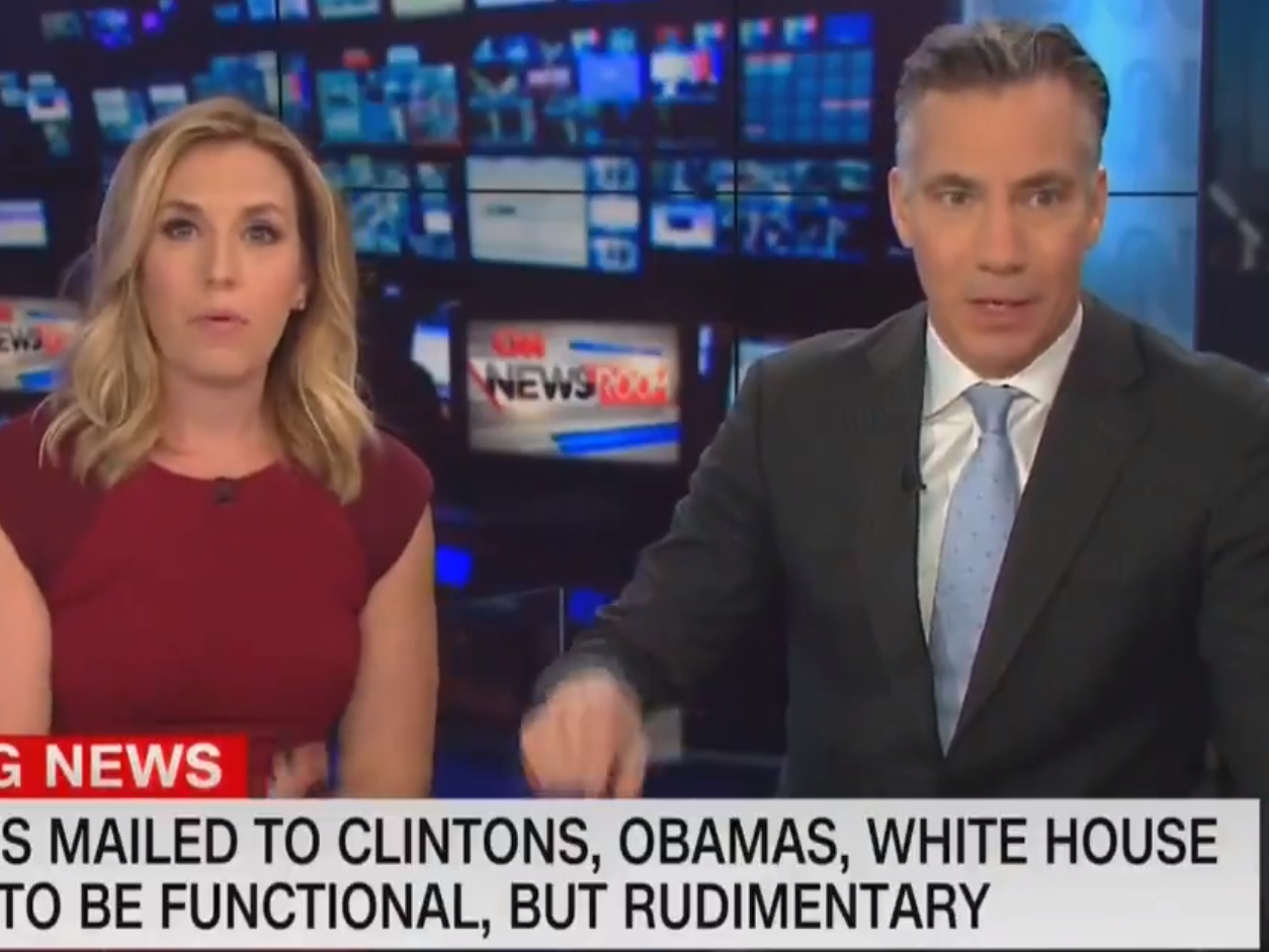 Cnn Bomb Threat New York Mayor Condemns Act Of Terror As Explosive Device Sent To News Networks Building The Independent