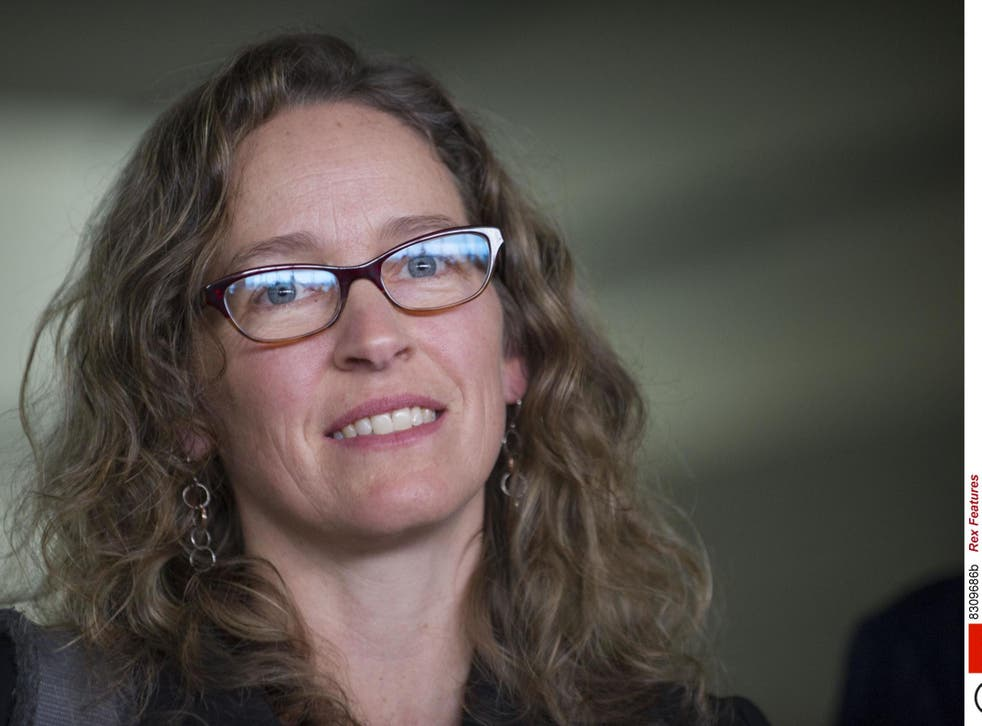 Environmental attorney Julia Olsen is representing 21 young people in a case against the federal government over climate change