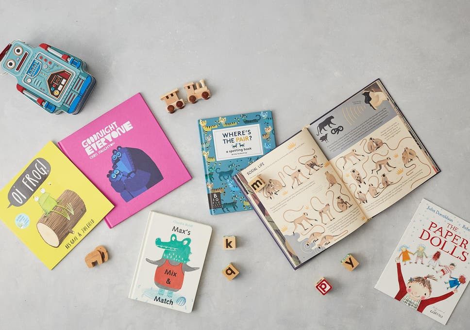 encourage a love of reading with a personalised toddler book subscription