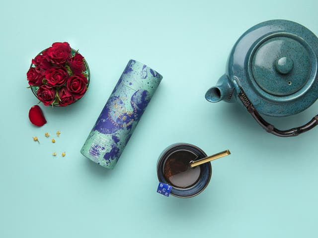 Camomile, lemon balm and passionflower make for a relaxing blend in this Niche Sleep tea
