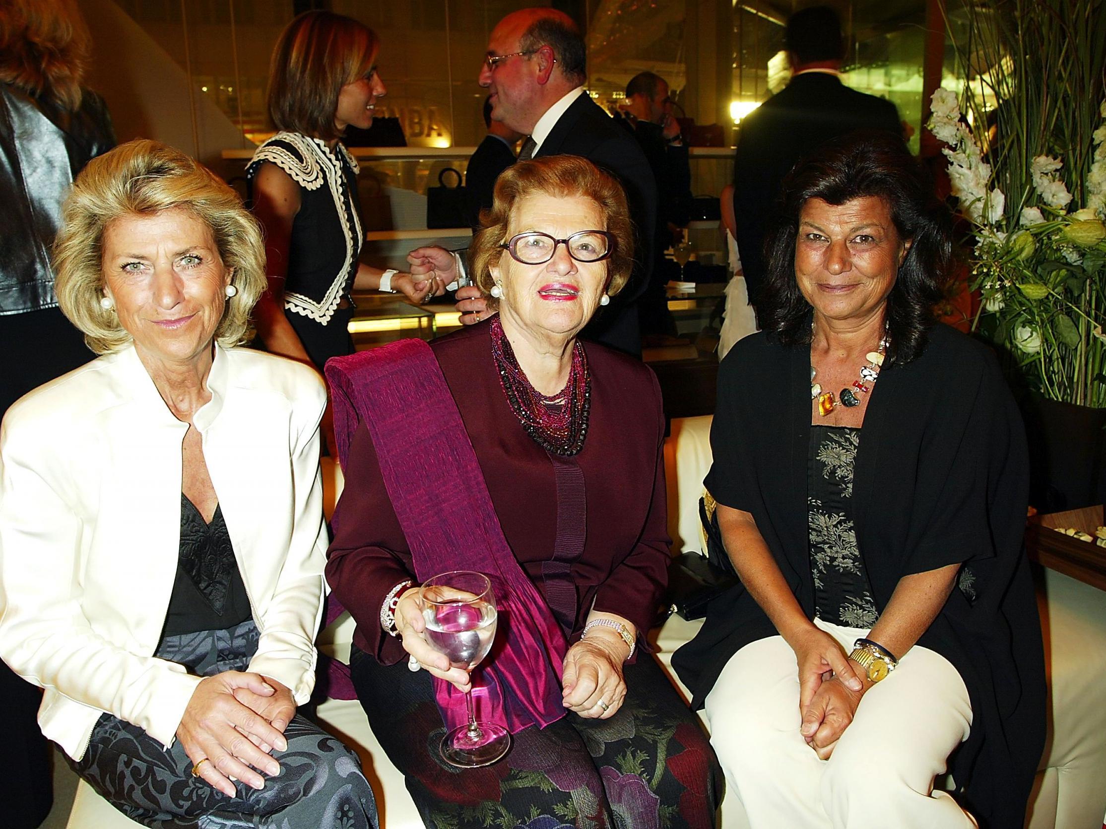 Wanda Ferragamo  matriarch behind the Salvatore Ferragamo fashion brand  9170a22b1cc8e
