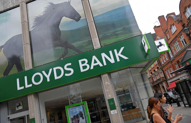 Crash affected Lloyds Banking Group