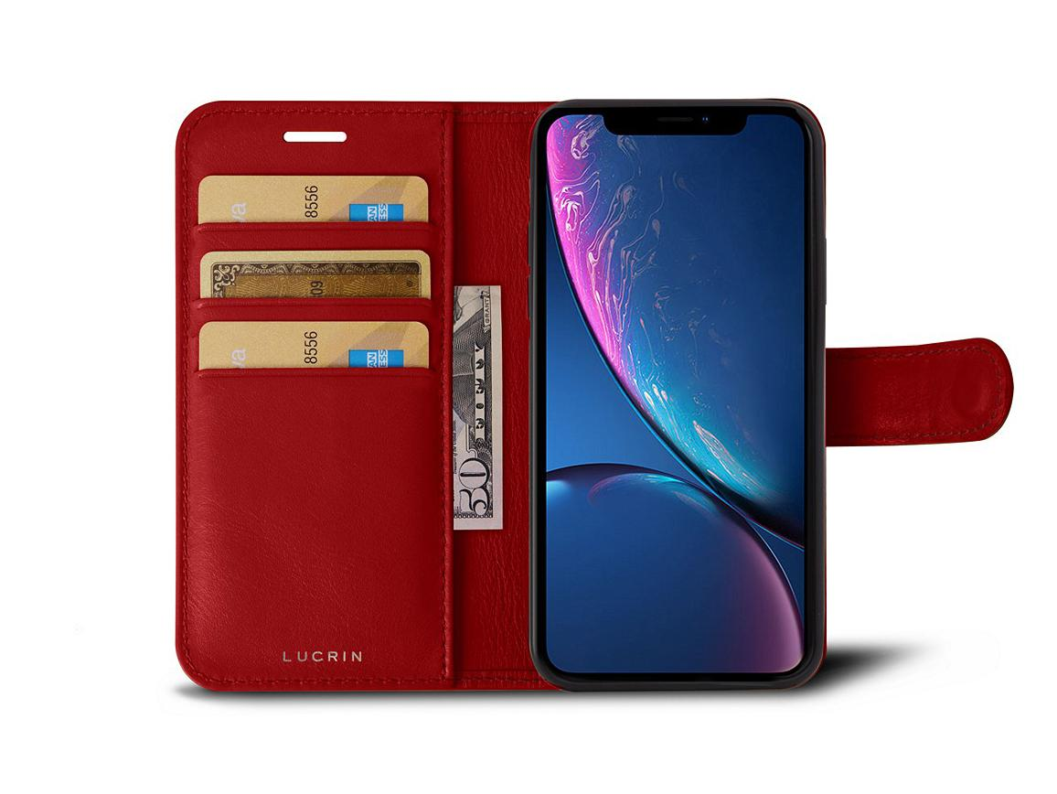 Cover iPhone XR Book - Red