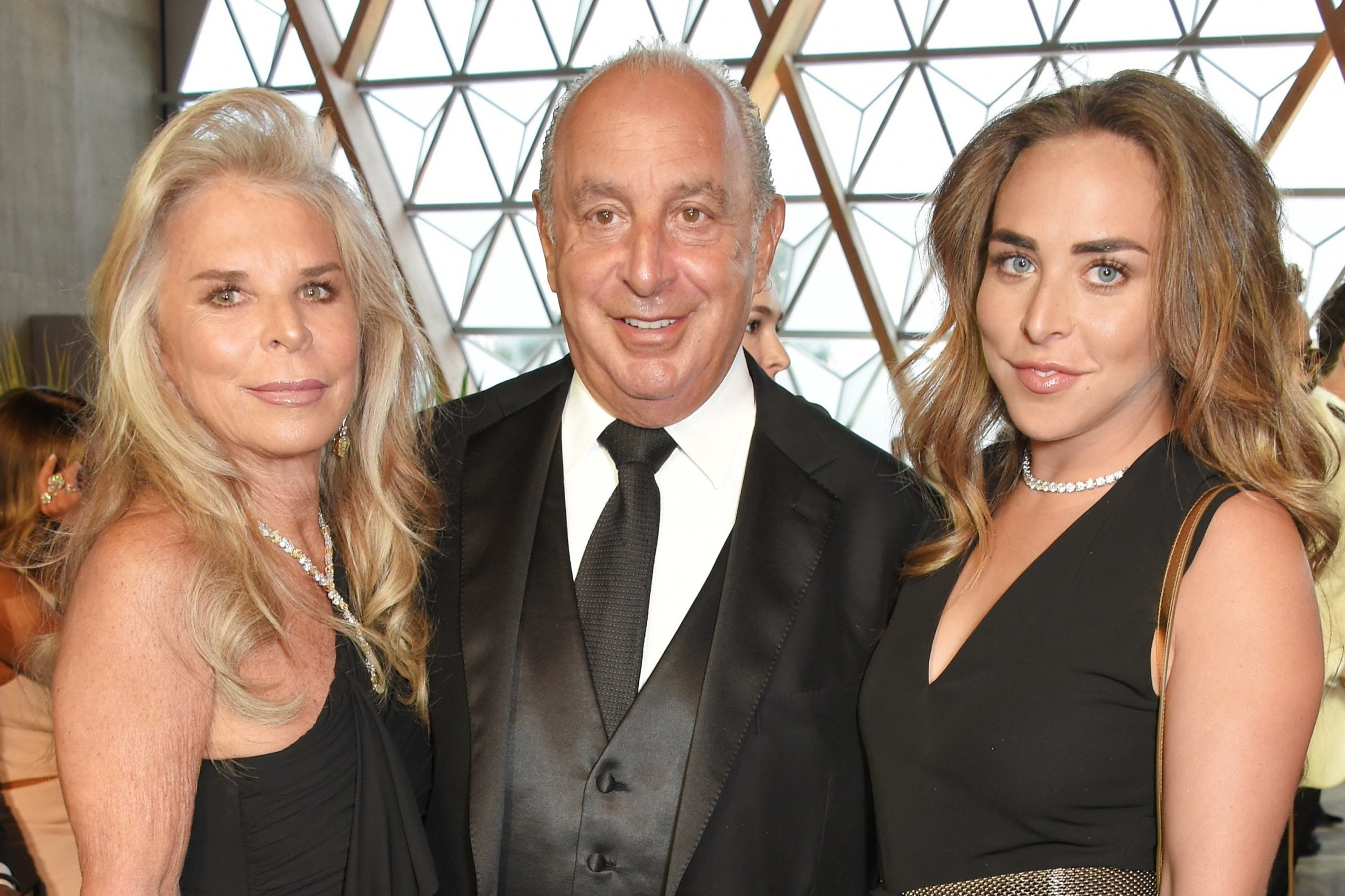 Janet Hain how ironic that philip green was named in parliament, a
