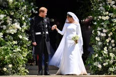 Meghan Markle speaks for first time about royal wedding dress