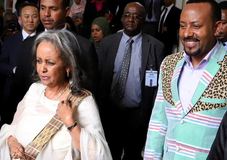Image result for 21.	Ethiopia appoints Sahle-Work Zewde as first female president