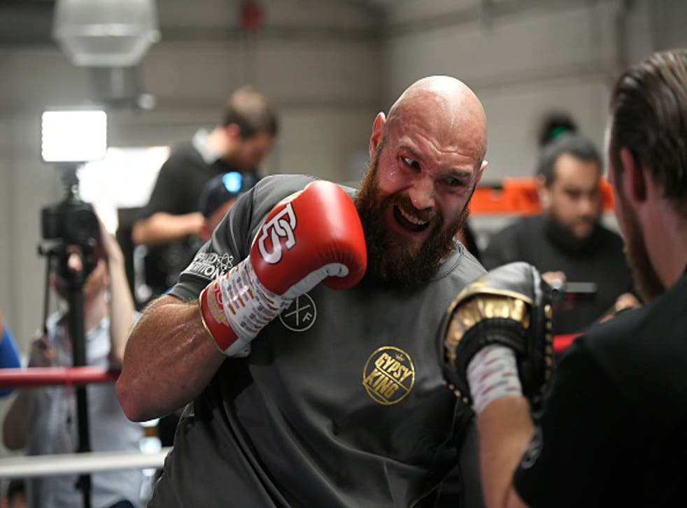 Tyson Fury has relocated to California for his training camp
