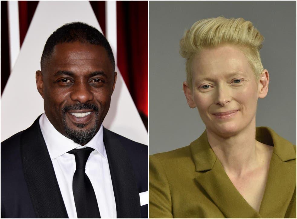 Idris Elba and Tilda Swinton