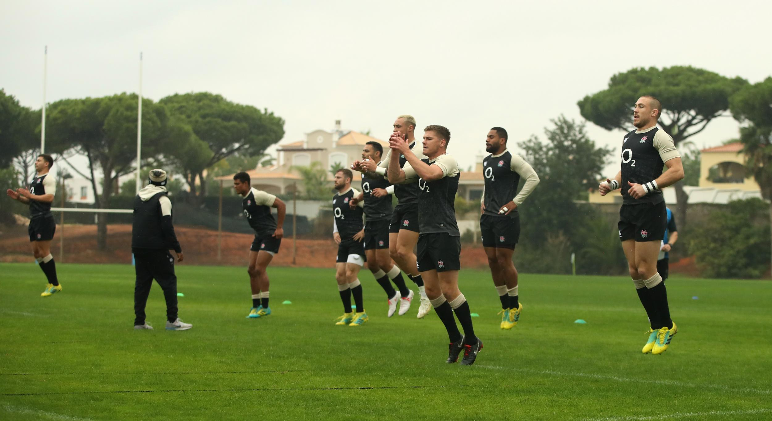 England coaches jet in reinforcements as squad are put through their