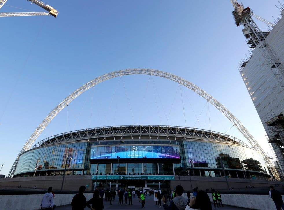 Wembley Stadium is a 'prime target' target, say security forces