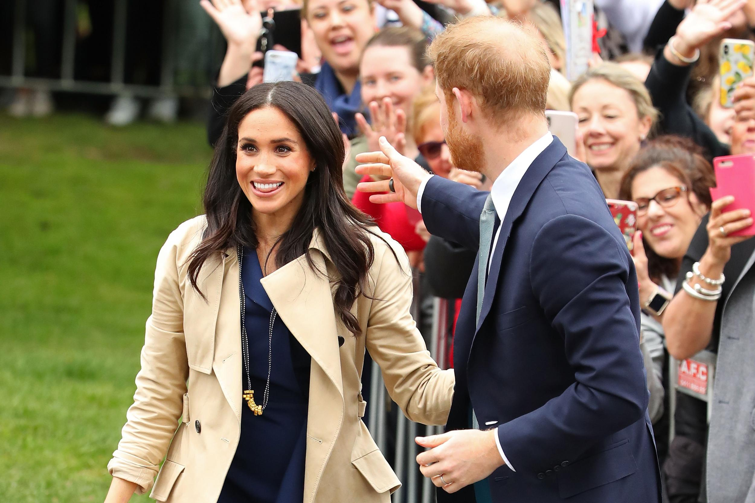 Meghan Markle: Boy who made pasta necklace for duchess now selling them around the world for charity