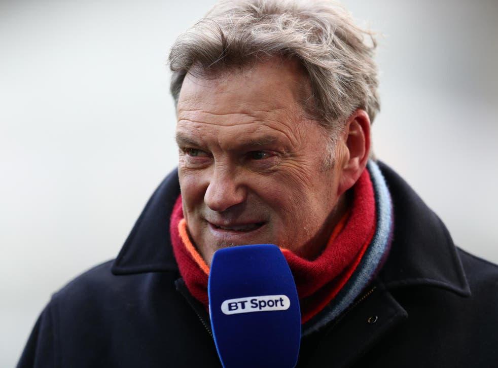 Glenn Hoddle is a football pundit for BT Sport