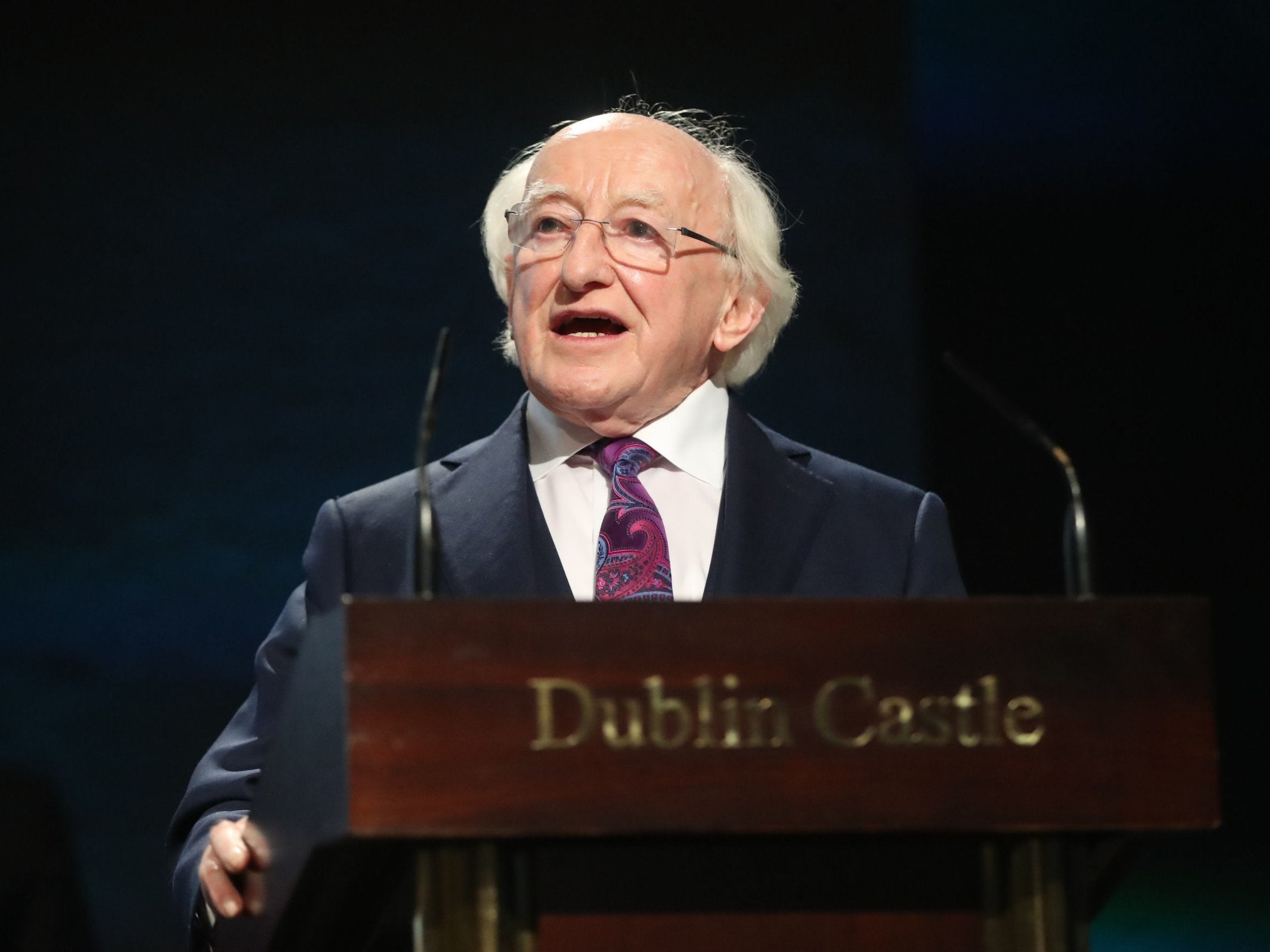 Michael D Higgins wins second term as Irish president with businessman Peter Casey surprise runner up