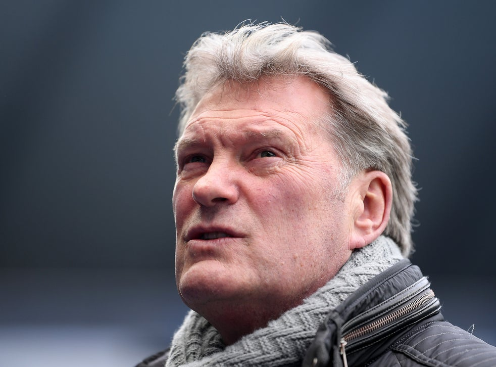 Glenn Hoddle Health Update Former England Manager Suffered Heart Attack Confirms Spokesman The Independent The Independent
