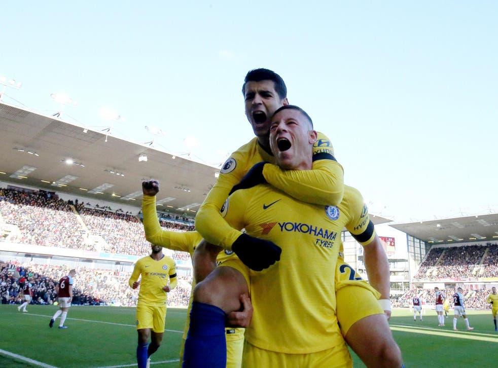 Chelsea made light of the absence of leading scorer Eden Hazard