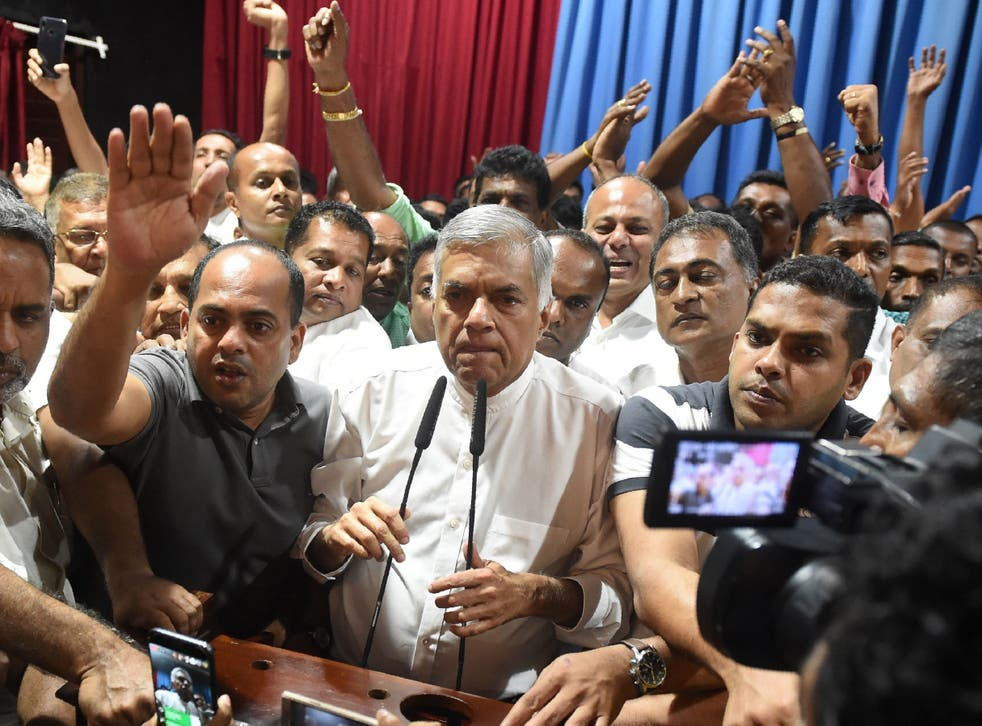 President Sirisena and Prime Minister Wickremasinghe, though unimpressive in many ways, began to rebuild trust among minorities
