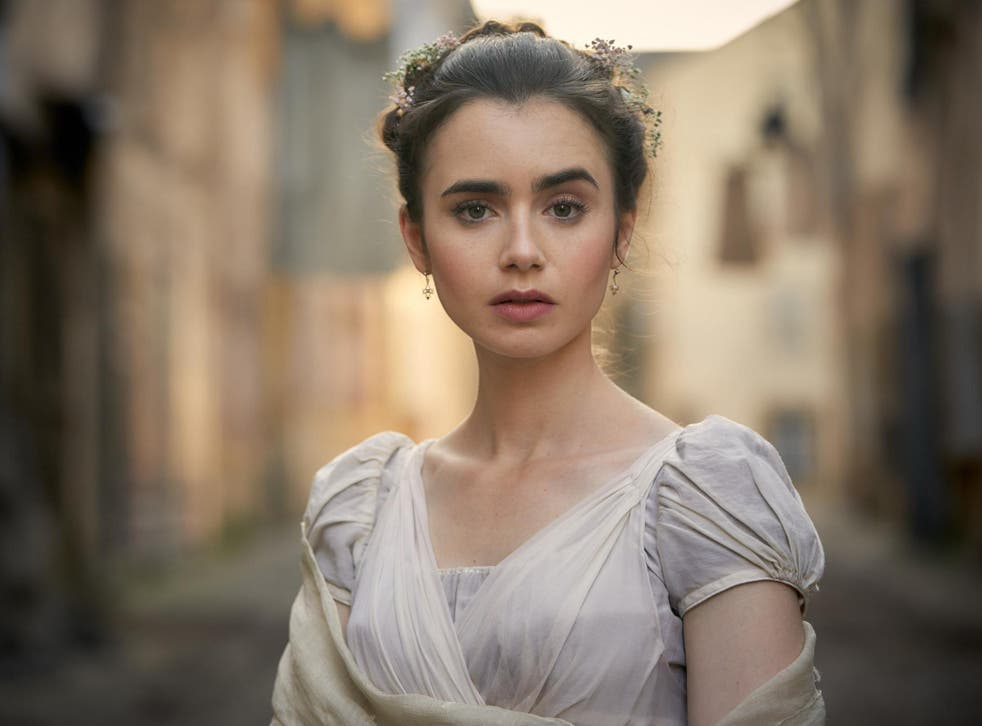 Lily Collins as Fantine
