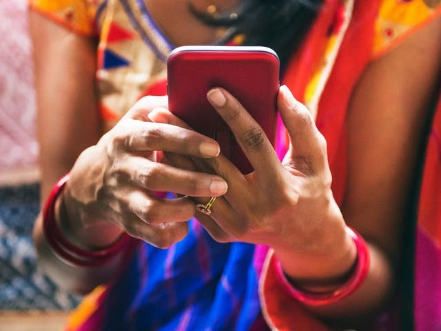 Just more than a quarter of India's population has access to the internet