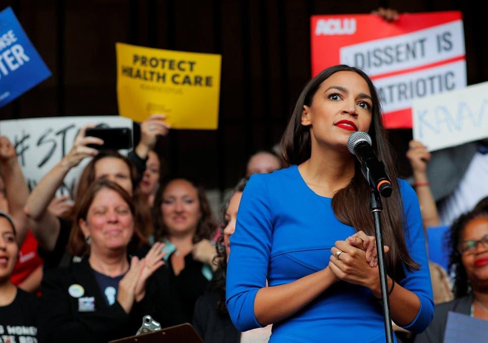 save off 86b64 9eb68 Alexandria Ocasio-Cortez  can t afford Washington apartment  before job in  Congress starts