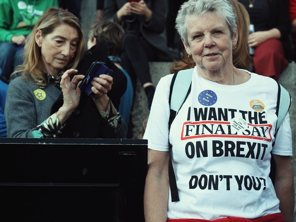 We stand on the brink of a historic, national collapse – it's time to take to the streets to stop Brexit