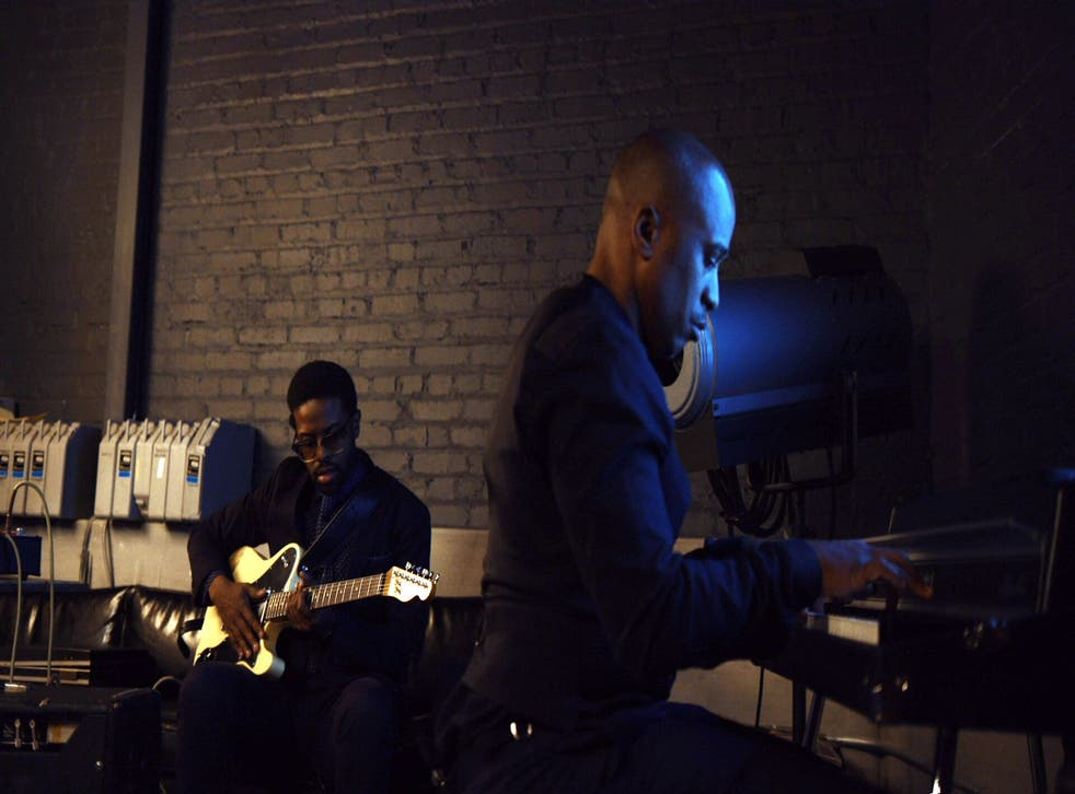 Adrian Younge (left) and Ali Shaheed Muhammad in Artform