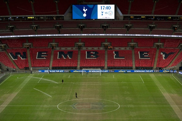 Tottenham's Champions League clash with PSV to go ahead despite poor state of Wembley pitch