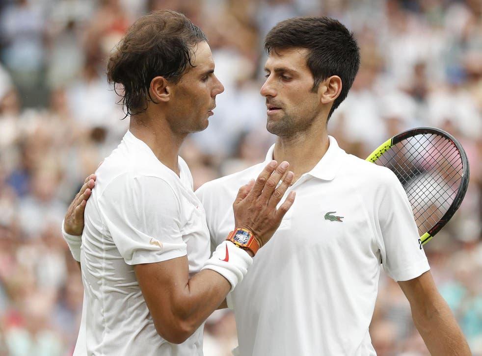 Novak Djokovic leads Rafael Nadal by 27 wins to 25 in their head-to-head record