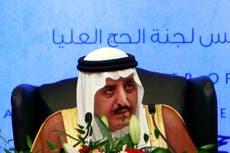King Salman's brother lands in Saudi Arabia for 'crisis talks'