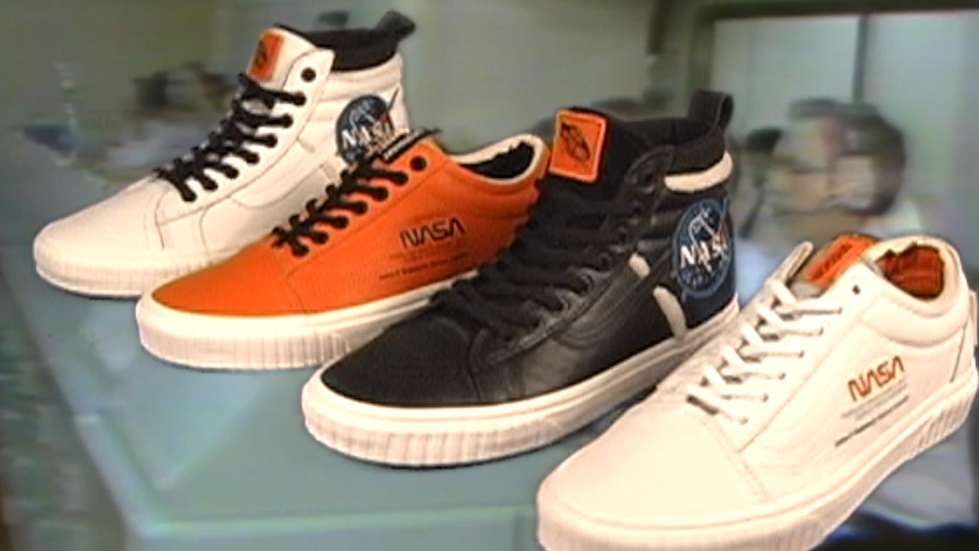 Nasa x Vans: Space and skate finally