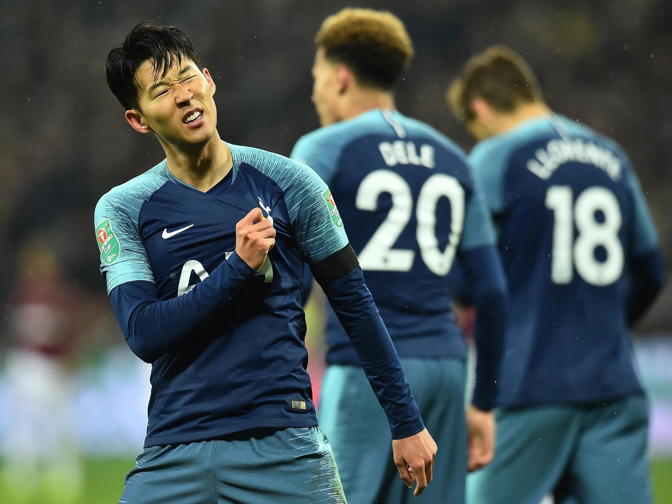 check out 090bb 272b0 Son Heung-Min double helps see Tottenham past West Ham to ...