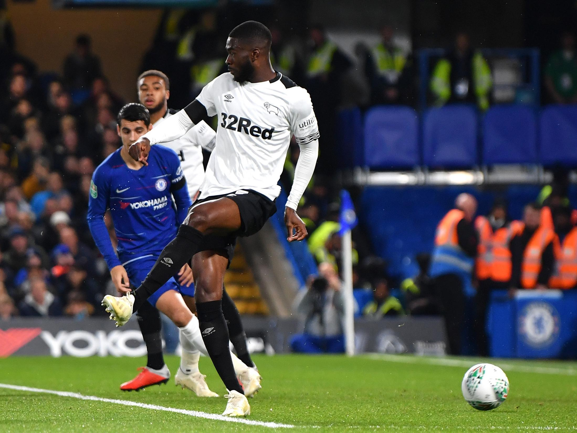 Gianfranco Zola proud of Chelsea loanee Fikayo Tomori for spirited display in Derby defeat