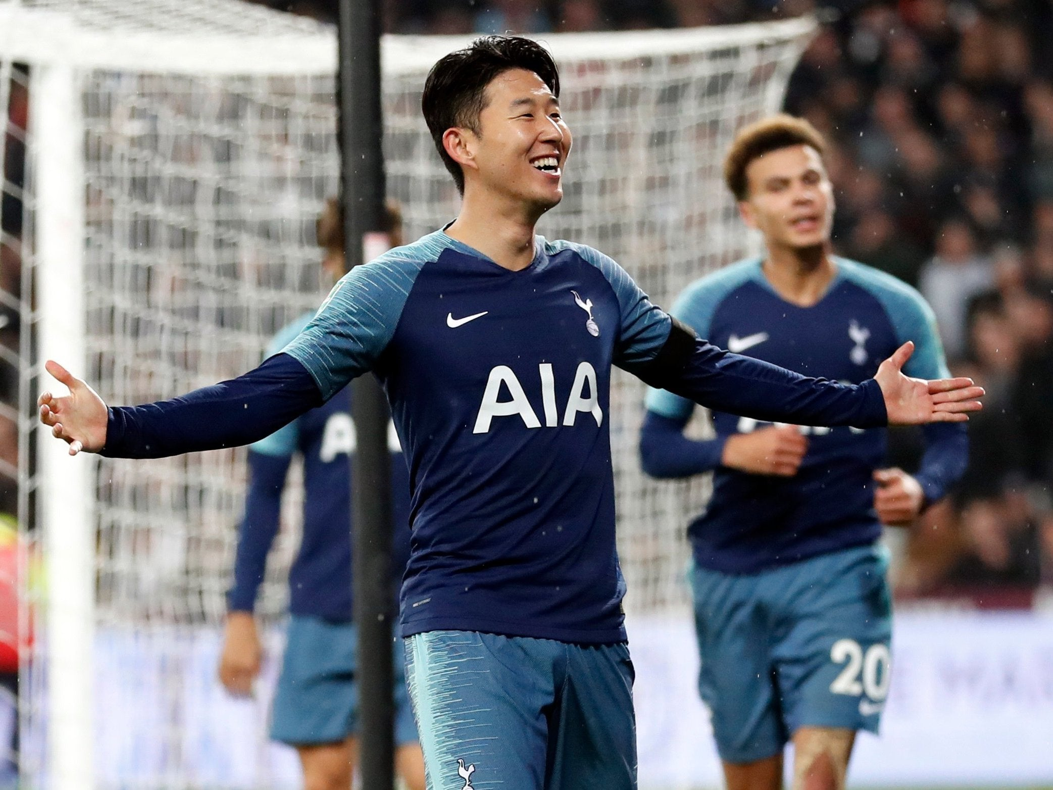 Son heung min relieved to end goal drought after firing for Son heung min squadre attuali