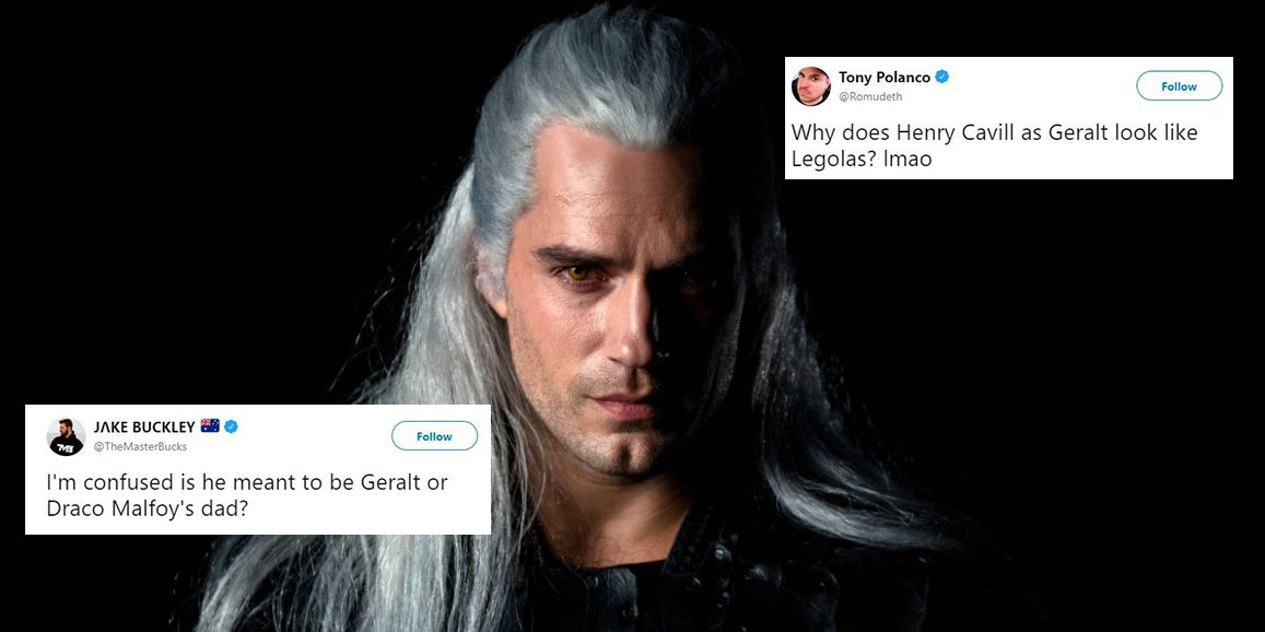 The First Look At Henry Cavill In The Witcher Has Been