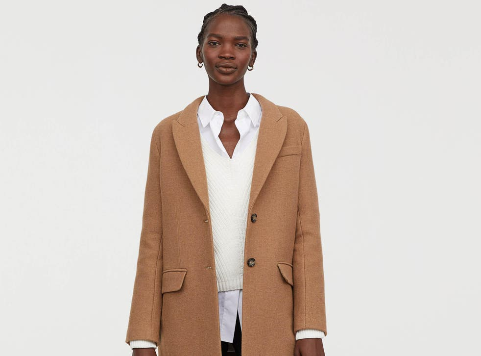The first big buy of the season: a warm coat, like this wool blend from H&M, £79.99