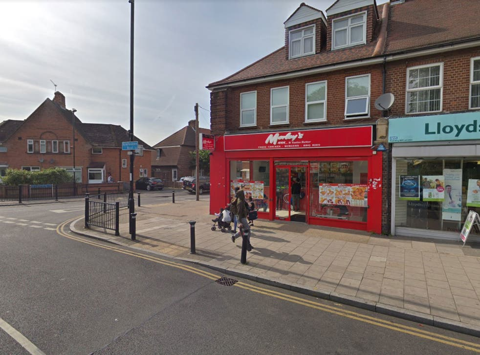 The teenager was found with knife wounds inside this Morley's fried chicken shop in Lewisham
