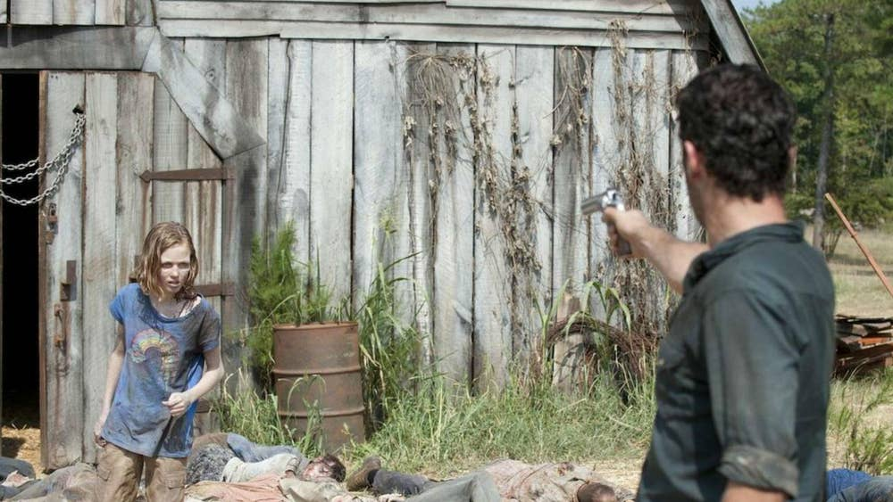 The Walking Dead season 9 episode 16 review: Snow apocalypse