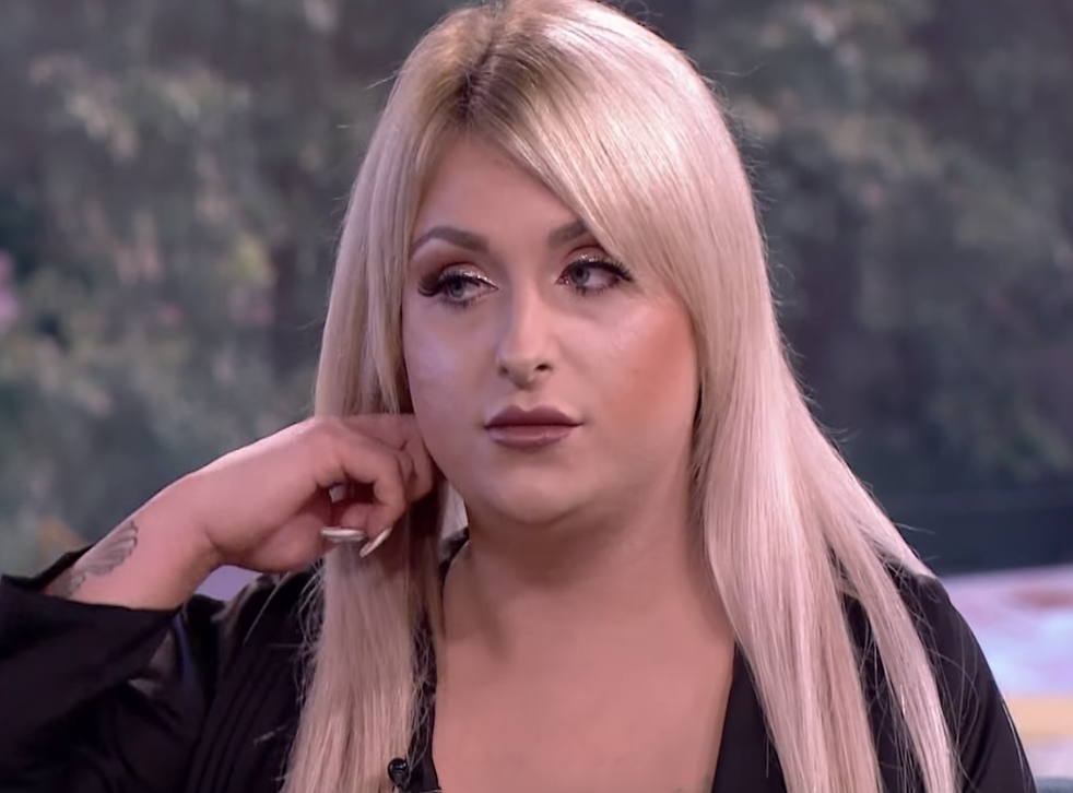 Britain's youngest transgender woman has opened a hair salon (ITV)
